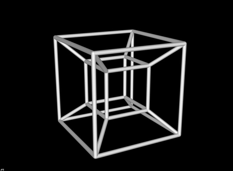 4d Shadow: Tesseract